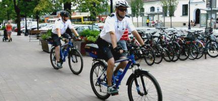 Patrole straży miejskiej ponownie wyruszą w miasto na rowerach