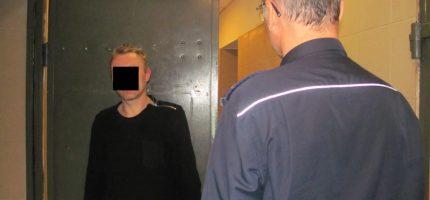Aresztowany za przemoc w rodzinie i znieważenie policjantów