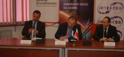 Umowa na modernizację linii 447 podpisana