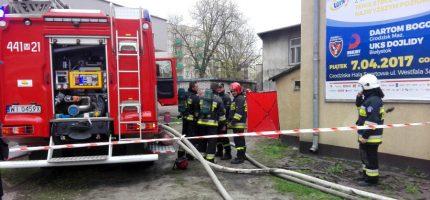 Pożar na Sienkiewicza. Jedna osoba nie żyje