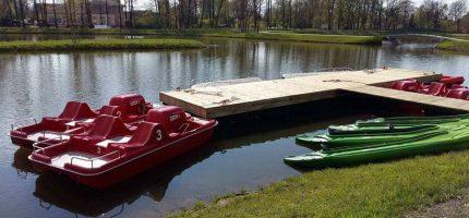 Łódki na Stawach Walczewskiego już dostępne