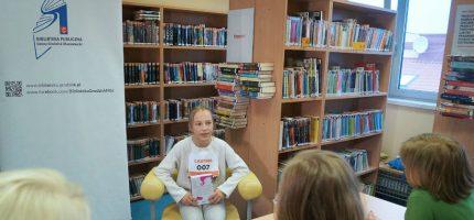 Nakręcą program literacki w grodziskiej bibliotece