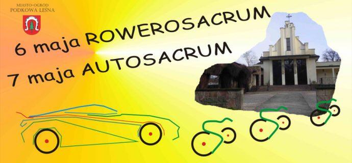 Autosacrum i Rowerosacrum już w ten weekend
