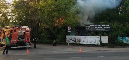 Dwa pożary w Milanówku