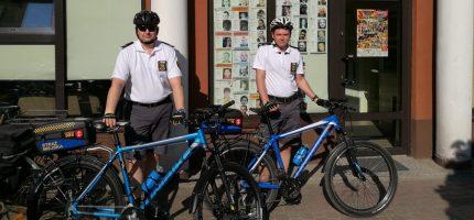 Rowerowe patrole znów na ulicach Grodziska