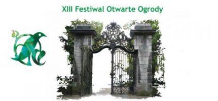 Dziś startuje Festiwal Otwarte Ogrody