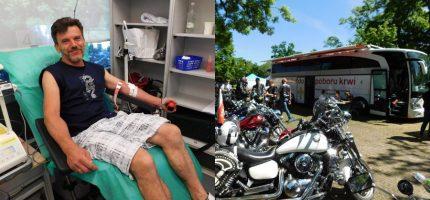 Motoserce, czyli otwarte serca grodziskich krwiodawców [FOTO]