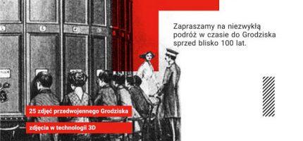 Wirtualna podróż w czasie po Grodzisku. Trójwymiarowa wystawa w Parku Skarbków