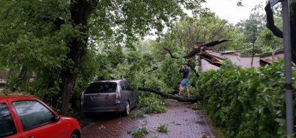 Meteorolodzy ostrzegają przed nawałnicami na Mazowszu