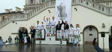 Udane starty grodziskich karateków