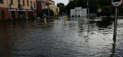Ulice Grodziska pod wodą [FOTO]