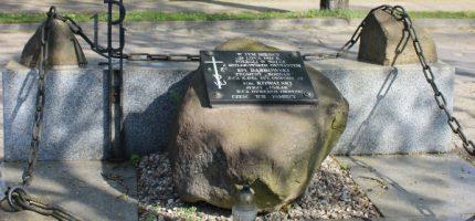 Pamięć o oficerach AK zamordowanych w Milanówku