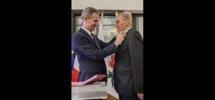 Wysokie odznaczenie państwowe dla konsula związanego z grodziskiem