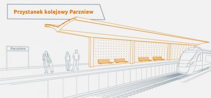 Po modernizacji linii 447 pociągi zatrzymają się na nowym przystanku