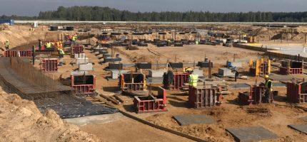 Teren budowy Suntago się rozszerza