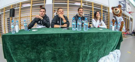 Piłkarze Legii z wizytą w Książenicach [FOTO]