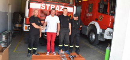 Nowy sprzęt dla ochotniczych straży pożarnych [ FOTO]