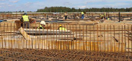 Na budowie Park of Poland praca wre