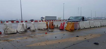 Poranne utrudnienia i korki na autostradzie