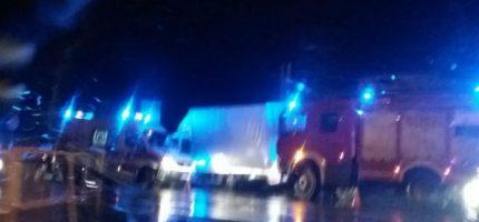 Wieczorne zderzenie w Milanówku