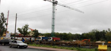 Ruszyła budowa parkingu na Żydowskiej [FOTO]