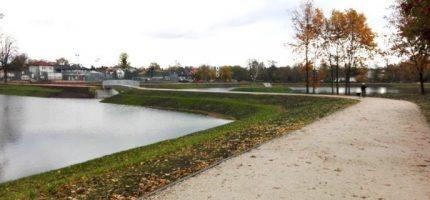 Na Stawach Walczewskiego pojawi się pływająca fontanna