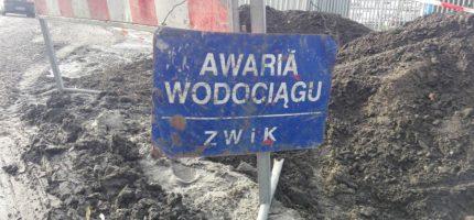ZWiK: Duża awaria wodociągowa w Grodzisku