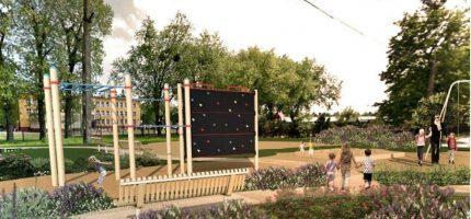 Tak będą wyglądać nowe parki i zieleńce w Grodzisku [FOTO]