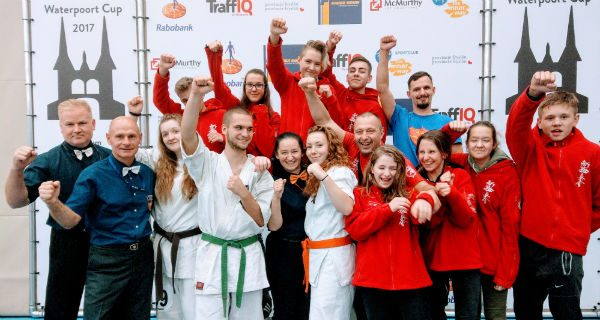 """Młodzi """"wojownicy"""" UKS-u Sparty z dwoma medalami w Holandii [FOTO]"""