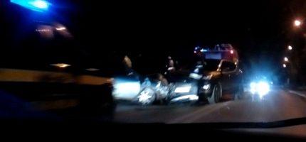 Wypadek na wiadukcie w Milanówku