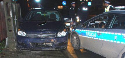 Policyjny pościg za podejrzanym o kradzieże