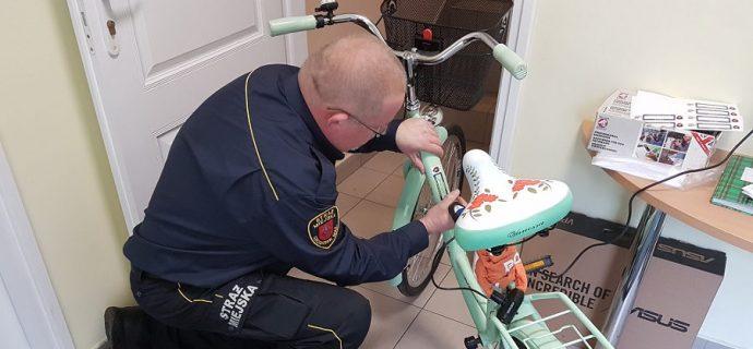 Wzrost liczby kradzieży jednośladów. Oznakuj rower