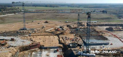 Filmowe podsumowanie budowy parku wodnego w 2017 roku