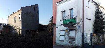 Budynki na Harcerskiej do rozbiórki