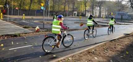 Kolejne podejście do miasteczka rowerowego