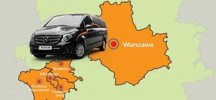 EcoCar rozwiązuje problem dojazdu do Warszawy