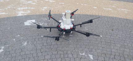 Grodziski dron znowu w akcji [FOTO]