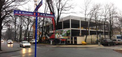 Co słychać na placu budowy Mediateki? [FOTO]