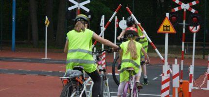 Miasteczko ruchu rowerowego w Podkowie