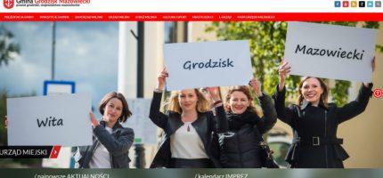 Grodziski magistrat ma nową stronę internetową. Prosi mieszkańców o opinie