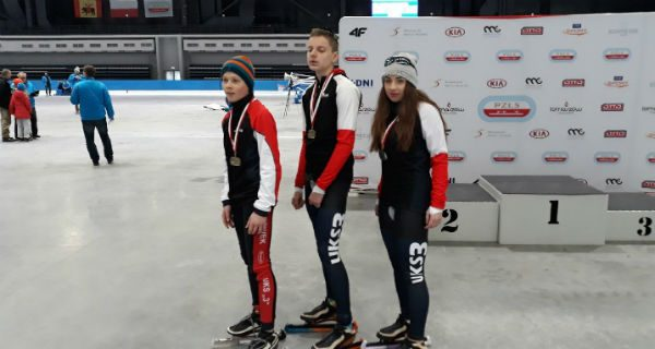 Udany sezon młodych panczenistów z Milanówka