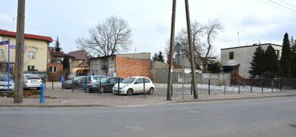 Dodatkowe miejsca parkingowe w centrum Grodziska