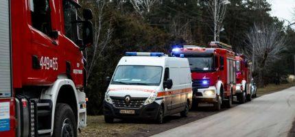 Akcja straży w Międzyborowie. Zażegnali niebezpieczeństwo wybuchu