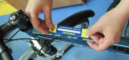 Zabezpiecz się przed kradzieżą – oznakuj rower