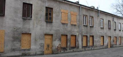 Kolejne budynki do rozbiórki