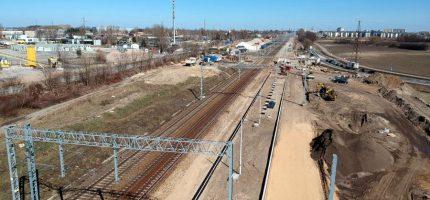 PKP PLK o postępach prac na linii 447 [FOTO]