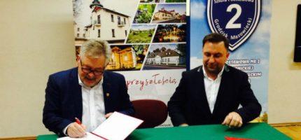 Umowa na rozbudowę grodziskiej Dwójki podpisana. Koszt? 6,5 mln zł