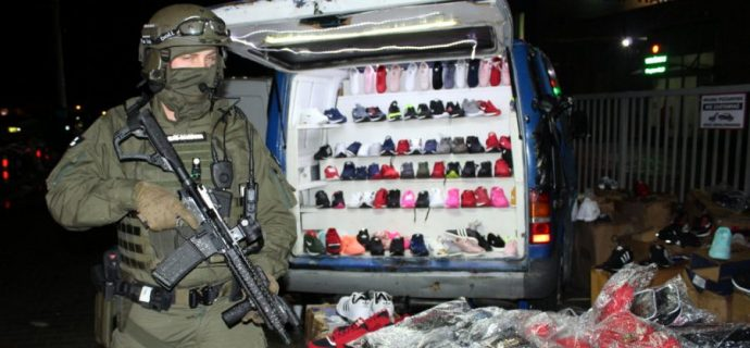 Policjanci zabezpieczyli podróbki za 10 mln zł