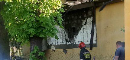 Pożar przy ul. Królewskiej