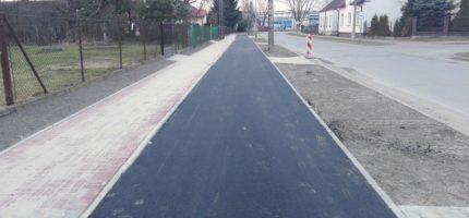 Ścieżek rowerowych w Grodzisku przybywa
